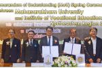 Memorandum of Understanding (MoU) Signing Ceremony between Mahasarkham University and Institute of Vocational Education: Northeastern Region 3