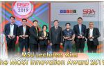 MSU Lecturers wins the MOST Innovation Award 2019
