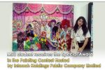 MSU student receives the Special Award in the Painting Contest Hosted by Intouch Holdings Public Company Limited