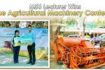 MSU Lecturer Wins the Agricultural Machinery Contest