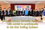 Mahasarakham University Signs MoU with MHESI to participate in QS Star Rating System