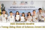 MSU Students receive the Young Rising Stars of Science Award 2020